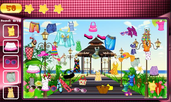 Hidden Objects Fashion Theme screenshot 11