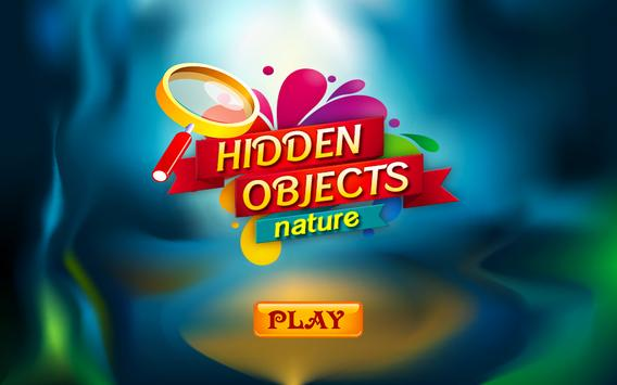 Hidden Objects Nature Theme poster