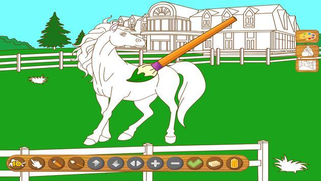 Coloringbook Horses screenshot 5