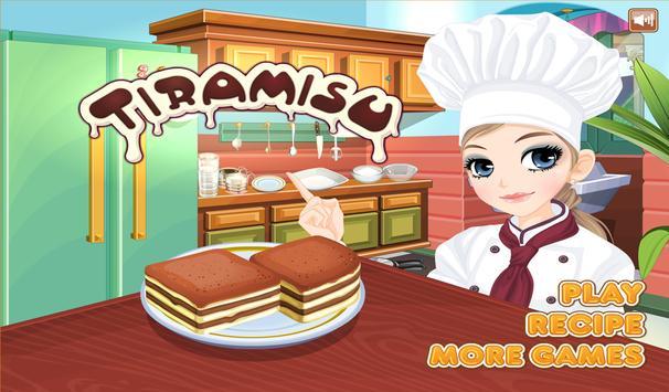 Tessa's Tiramisu cooking game apk screenshot