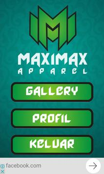 Maximax Apparel Sablon Profil poster