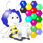 Bee Coloring Game Animals icon