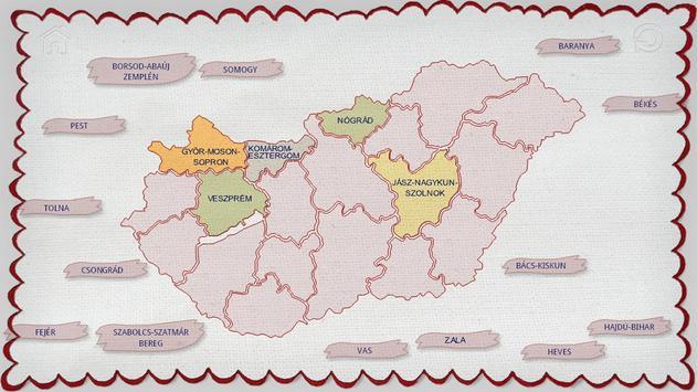 Counties of Hungary screenshot 4