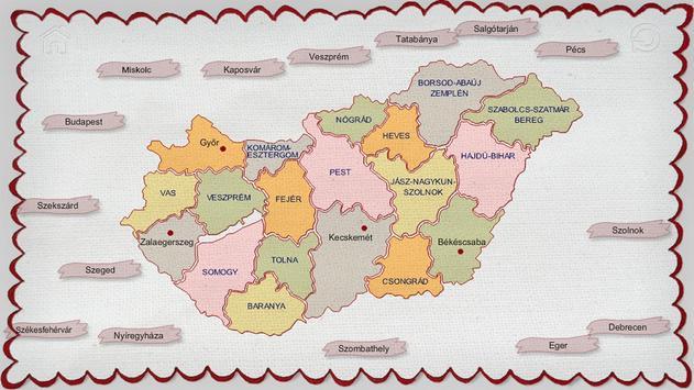 Counties of Hungary screenshot 3