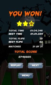 Memory Match Halloween Free apk screenshot