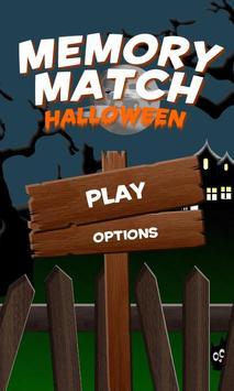 Memory Match Halloween Free poster