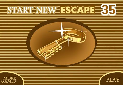 START NEW ESCAPE 035 poster