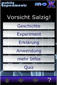 moX Vorsicht Salzig! poster