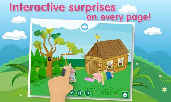 Three Little Pigs Lite apk screenshot