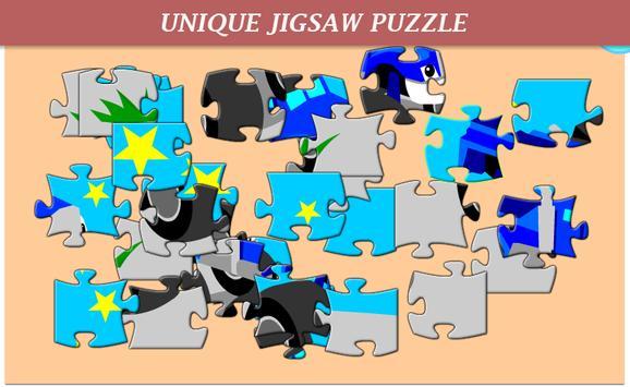 Monster Car Puzzle Kids screenshot 2