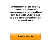 Daily motivational messages icon