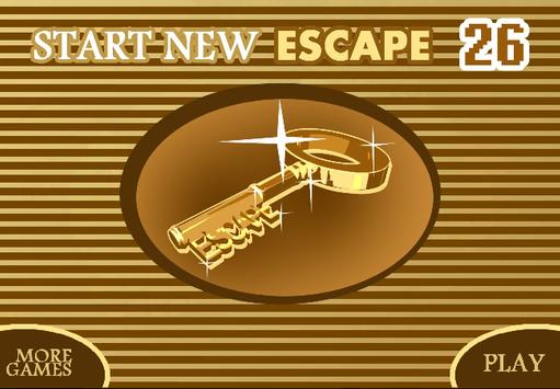 START NEW ESCAPE 026 poster