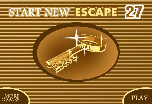 START NEW ESCAPE 027 screenshot 1