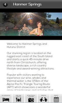 Hanmer Springs Hurunui Guide screenshot 3
