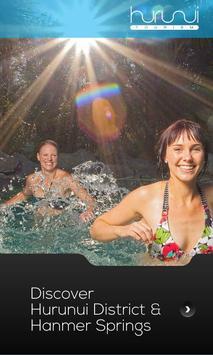 Hanmer Springs Hurunui Guide poster