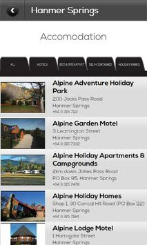Hanmer Springs Hurunui Guide screenshot 2