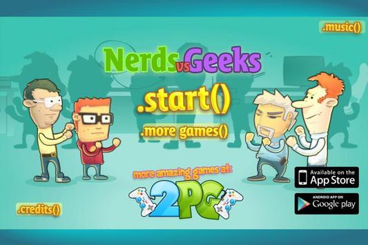Nerds Vs Geeks poster