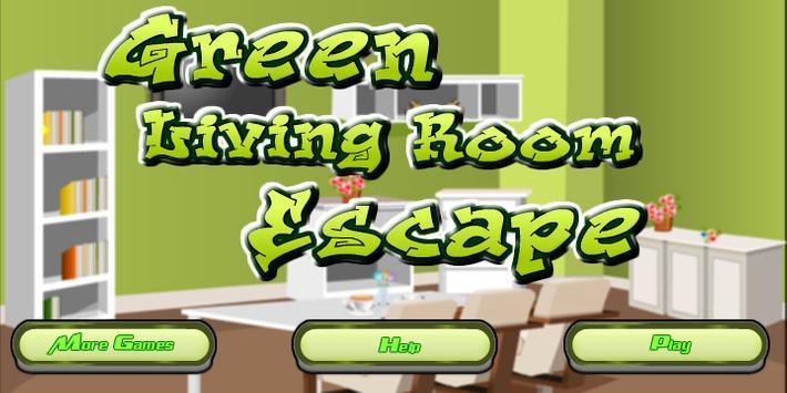 Green Living Room Escape screenshot 1