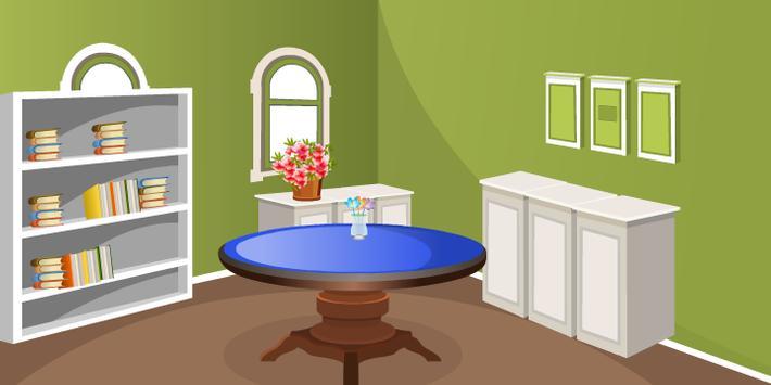 Green Living Room Escape screenshot 8