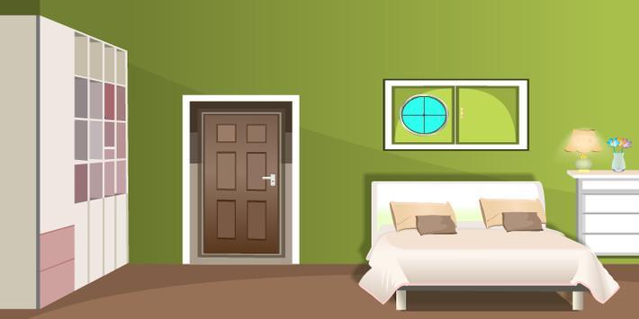 Green Living Room Escape screenshot 9