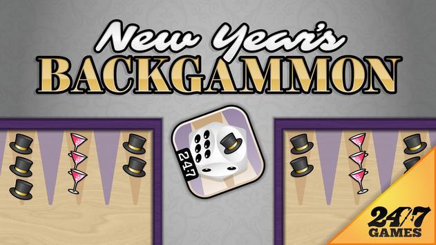 New Year's Backgammon poster