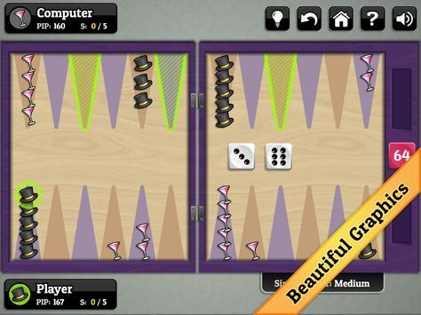 New Year's Backgammon apk screenshot
