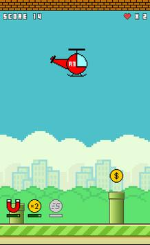 Flappy Copter screenshot 4