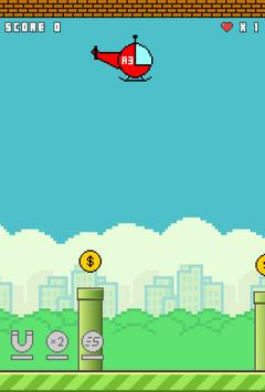 Flappy Copter screenshot 10