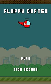 Flappy Copter screenshot 1