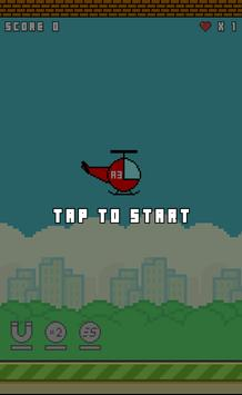 Flappy Copter screenshot 2