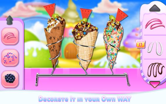 Homemade Ice Cream Cooking apk screenshot
