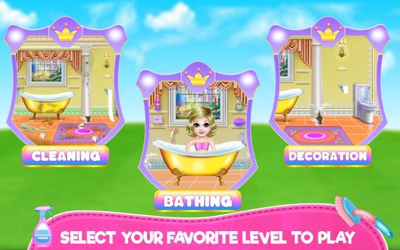 Royal Bathroom Cleanup screenshot 1