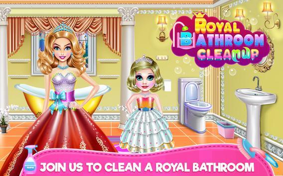 Royal Bathroom Cleanup screenshot 8