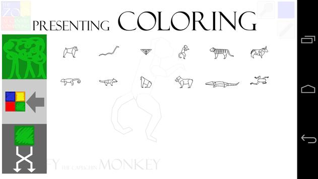 Canary Zoo Coloring Book screenshot 3