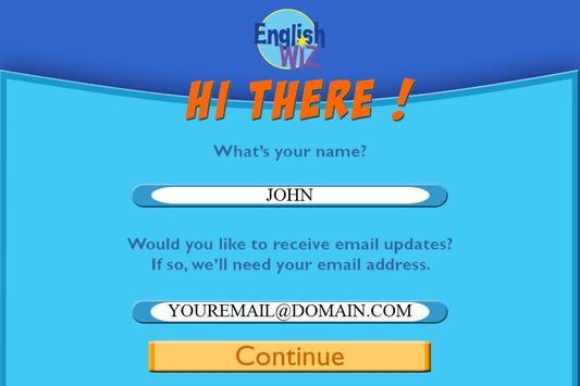 English Wiz screenshot 1