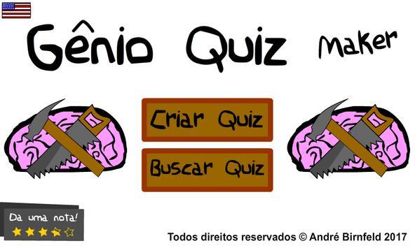 Genius Quiz Maker poster