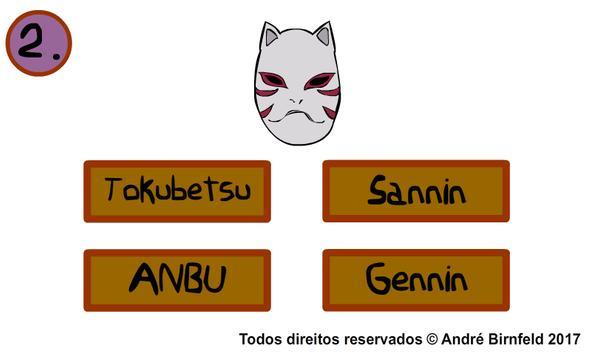 Genius Quiz Naru - Smart Anime Trivia Game screenshot 1