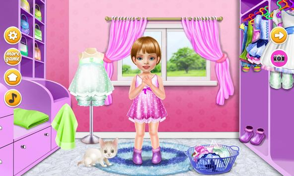 Wash laundry games for girls screenshot 3