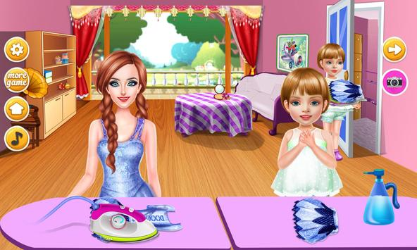 Wash laundry games for girls screenshot 13