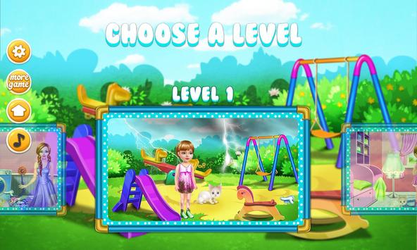 Wash laundry games for girls screenshot 1
