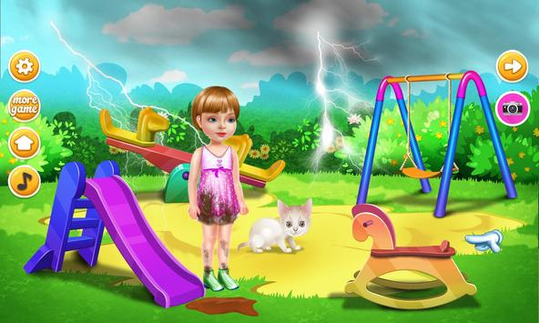 Wash laundry games for girls screenshot 2