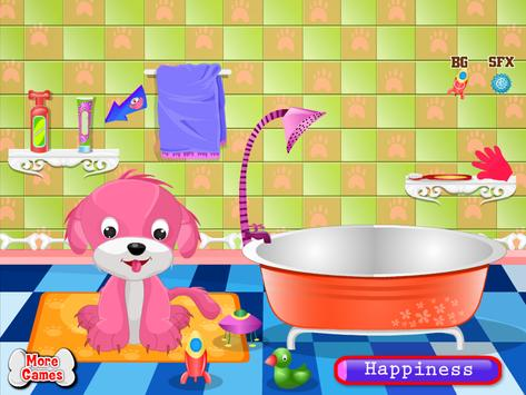 Cute Puppy Games for Girls poster