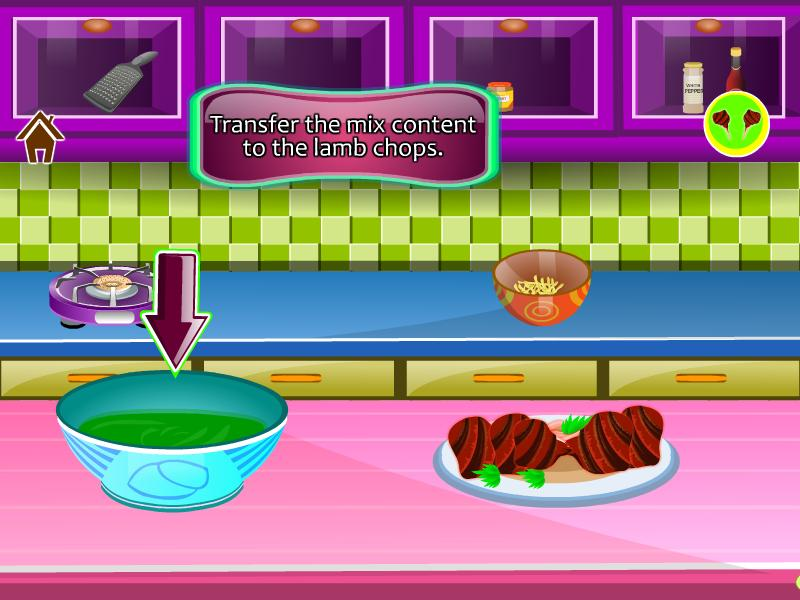 Kochen Spiel