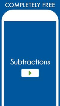 Subtractions poster