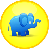 Elephant Zooballs Physics Game icon