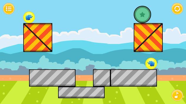 Elephant Zooballs Physics Game screenshot 10