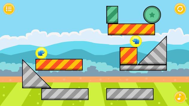 Elephant Zooballs Physics Game apk screenshot