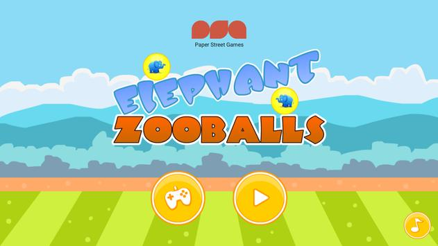Elephant Zooballs Physics Game screenshot 14