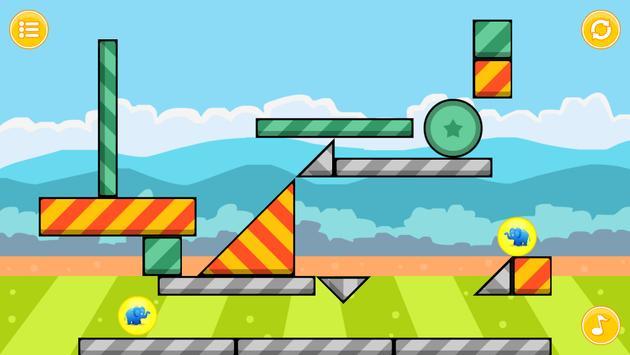 Elephant Zooballs Physics Game screenshot 1
