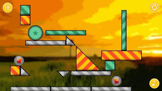 Lion Zooballs Physics Game apk screenshot